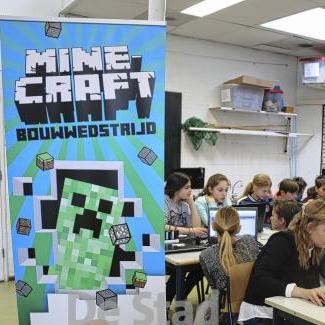 Minecraft Bouwwedstrijd: bouw het nieuwe stadhuis van Amersfoort