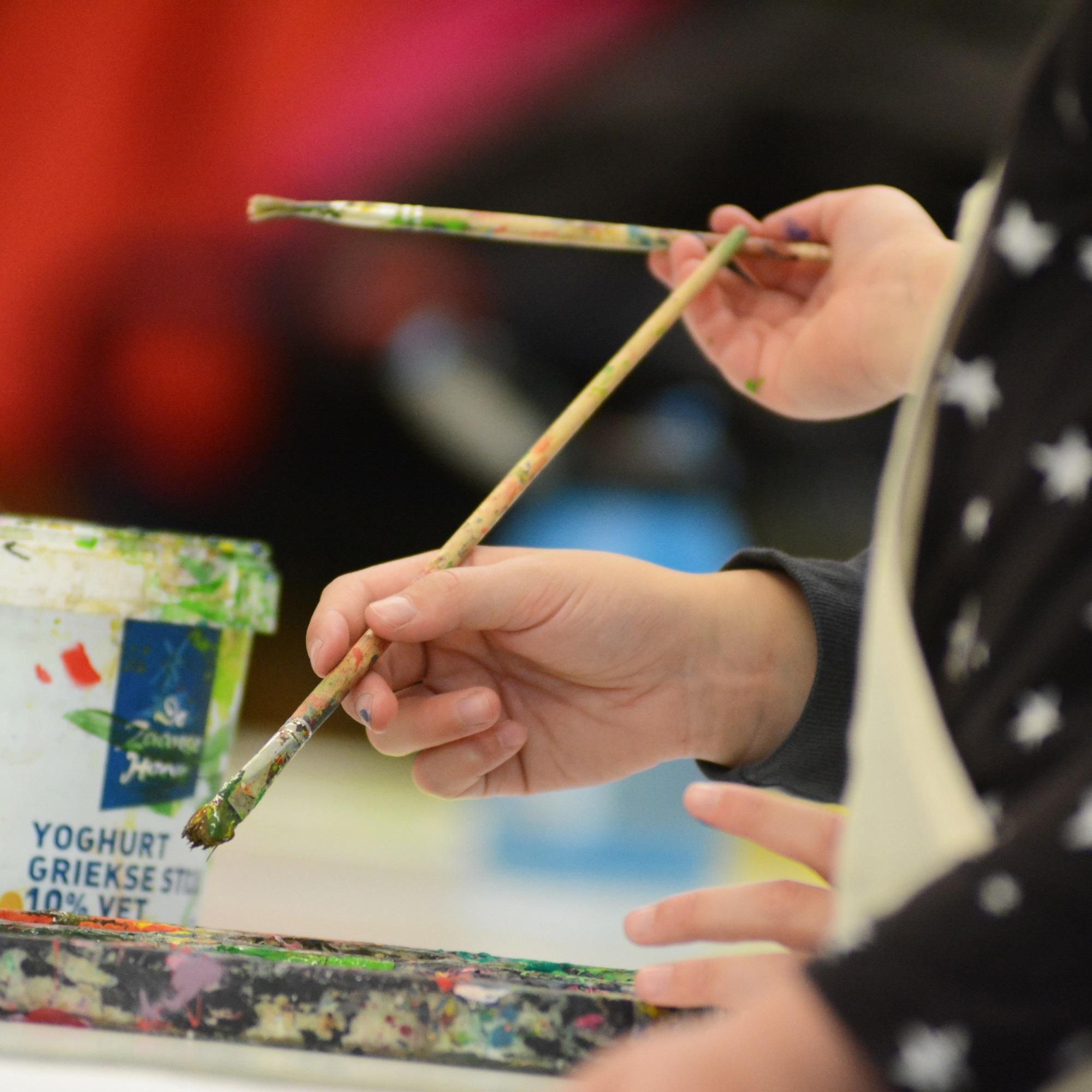 Creatieve workshops in de herstvakantie